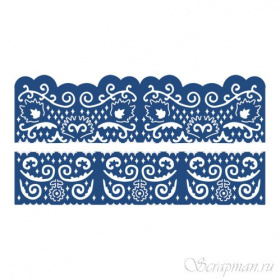 "Нож ""Florentine Fancy Edges Set 2"" от Tattered Lace"