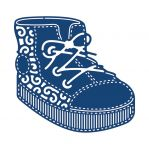 "Нож ""Baby Boy Boot"" от Tattered Lace от магазина ScrapMan.ru"