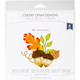 "Нож для вырубки ""Acorns & Leaves"" от Cheery Lynn Designs"