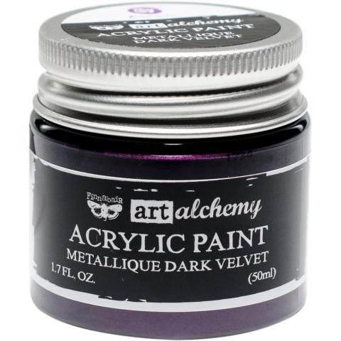 "Акриловая краска Art Alchemy ""Dark Velvet"" Metallique 50мл от Prima Marketing"