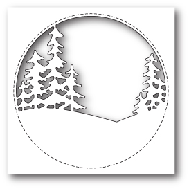 "Нож для вырубки ""Stitched Circle Trees"" Memory Box"