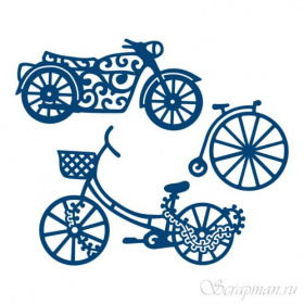 "Нож ""His Transport "" от Tattered Lace"