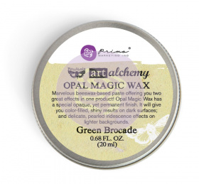 "Восковая паста Art Alchemy Opal Magic Wax - ""Green Brocade"" 20мл от Prima Marketing"