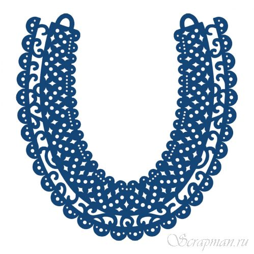 "Нож ""Horseshoe"" от Tattered Lace от магазина ScrapMan.ru"