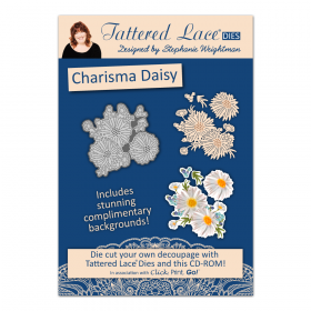 "Набор нож + CD диск ""Charisma Daisy"" от Tattered Lace"