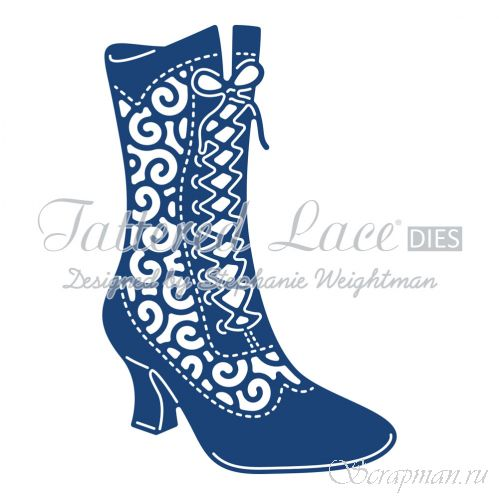 "Нож ""Milly Boot"" от Tattered Lace от магазина ScrapMan.ru"