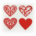 "Нож ""Hearts (Set of 4)"" от Cheery Lynn Designs от магазина ScrapMan.ru"