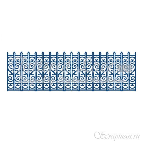 "Нож ""Decorative Railings"" от Tattered Lace от Tattered Lace от магазина ScrapMan.ru"