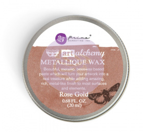 "Восковая паста Art Alchemy Metallique Wax - ""Rose Gold"" 20мл от Prima Marketing"