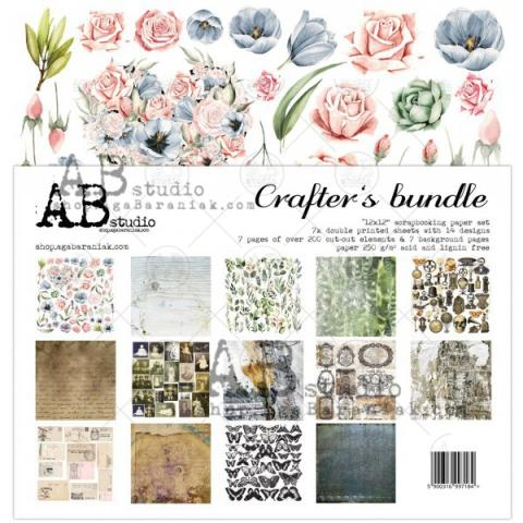 "Набор бумаги ""Crafter's Bundle"" 30*30см 7 листов"