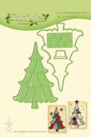 "Нож для вырубки ""Patch die Christmas Tree"" Leane Creatief"