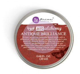 "Восковая паста Art Alchemy Antique Brilliance Wax - ""Fire Ruby"" 20мл от Prima Marketing"