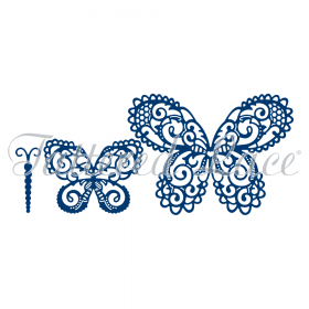 "Нож ""Build a butterfly Magnificent"" от Tattered Lace"