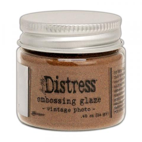 Пудра Tim Holtz Distress Embossing Glaze цвет Vintage Photo