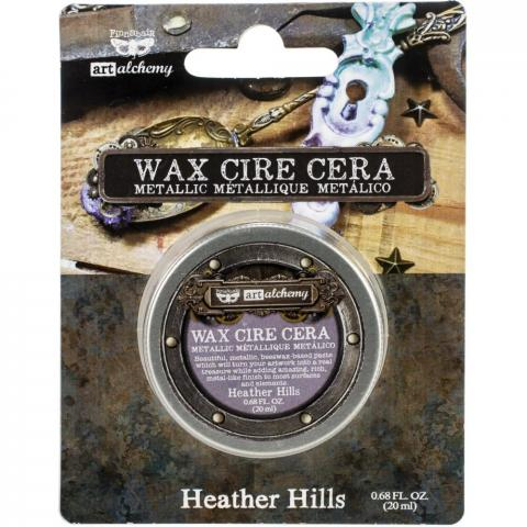 "Восковая паста Art Alchemy Metallique Wax - ""Heather Hills"" 20мл от Prima Marketing"