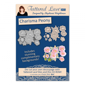 "Набор нож + CD диск ""Charisma Peony"" от Tattered Lace"