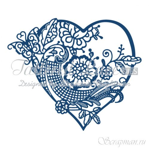 "Нож ""Heartfelt Tapestry"" от Tattered Lace от магазина ScrapMan.ru"