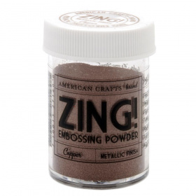 "Пудра для эмбоссинга Zing! Metallic ""Copper"""