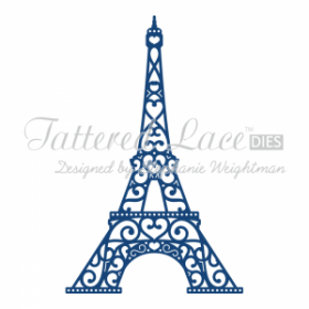 "Нож ""Eiffel Tower"" от Tattered Lace"