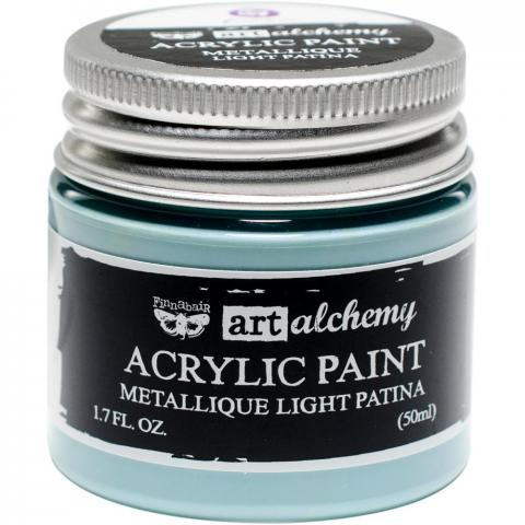 "Акриловая краска Art Alchemy ""Light Patina"" Metallique 50мл от Prima Marketing"