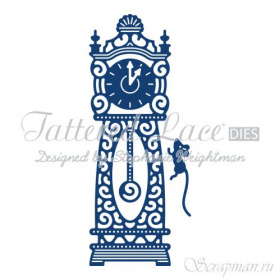 "Нож ""Hickory Dickory Dock"" от Tattered Lace"