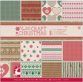 "Набор бумаги ""Craft Christmas"" 32 листа"