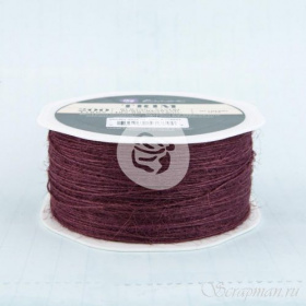 "Джутовая нить ""Jute Trim Mulberry"" 5 метров Prima Marketing"