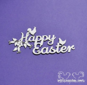 "Чипборд ""Happy Easter"""