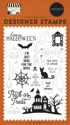 "Набор штампов ""Halloween Market"" от Carta Bella"