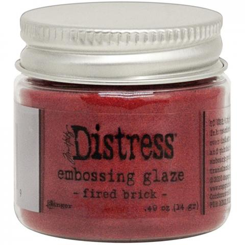Пудра Tim Holtz Distress Embossing Glaze цвет Fired Brick