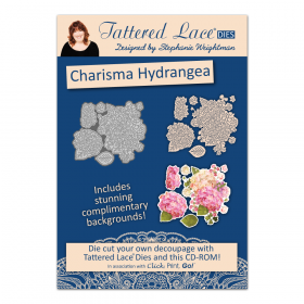 "Набор нож + CD диск ""Charisma Hydrangea"" от Tattered Lace"