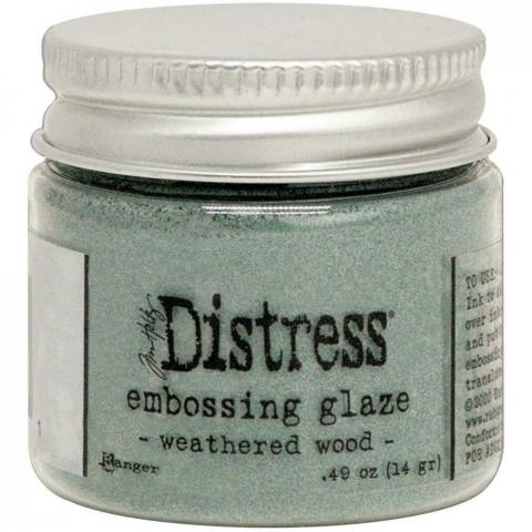 Пудра Tim Holtz Distress Embossing Glaze цвет Weathered Wood