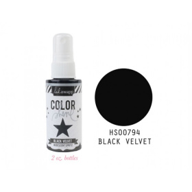 "Краска - спрей Color Shine ""Black Velvet"" от Heidi Swapp"