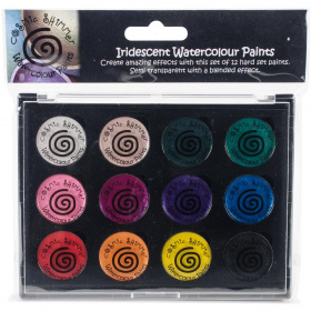 Набор акварели Cosmic Shimmer Watercolor Palette сет №2 Carnival Brights