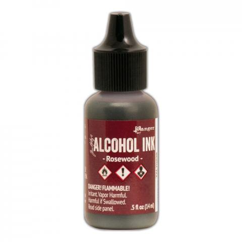 Чернила Alcohol Ink цвет Rosewood от Tim Holtz